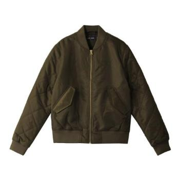 <フレッドペリー>QUILTED SLEEVE BOMBER JACKET