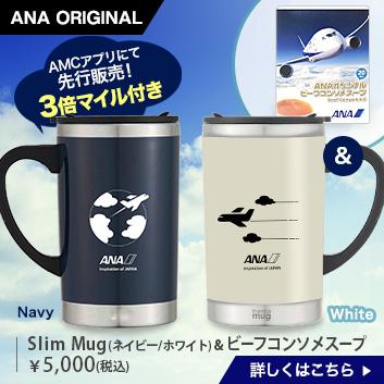 <ANAオリジナル>Slim Mug&ビーフコンソメスープ