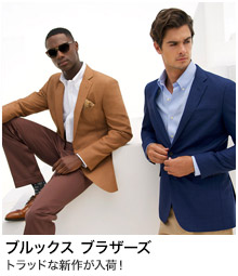 <ブルックスブラザーズ>ANA meets MEN'S CLUB MAGAZINE