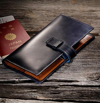 <ANAオリジナル> ホワイトハウスコックス パスポートケース