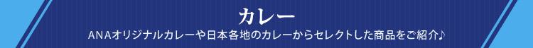 カレー ANAオリジナルカレーや日本各地のカレーからセレクトした商品をご紹介♪