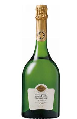 <テタンジェ>コント・ド・シャンパーニュ・ブラン・ド・ブラン【2006】(白シャンパン)
