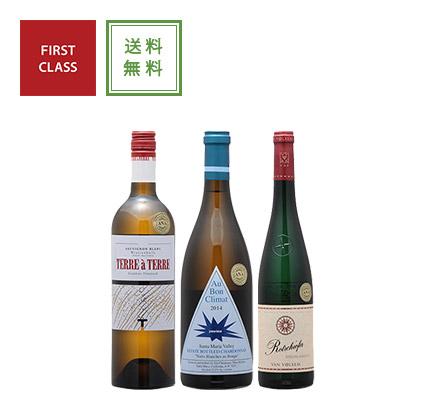 ファーストクラス白ワイン3本セット